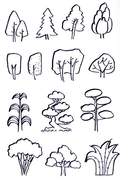 简笔画的造型方法和规律
