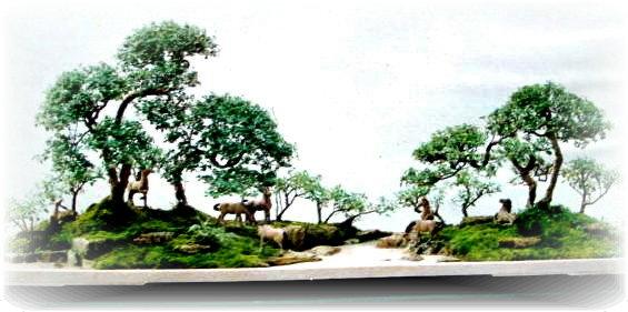 中国盆景欣赏及制作之十 - 乘成 - 乘成休闲吧