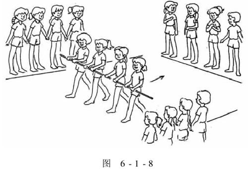 (3)在負重練習過程中,強調正確的走路姿勢,鼓勵學生不畏懼困難,堅持圖片