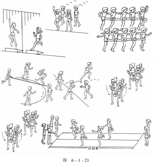 小学体育课游戏教案