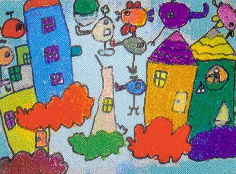 幼儿创意美术教育图片