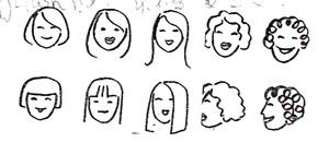 cs动态头像fds人物简笔画的画法