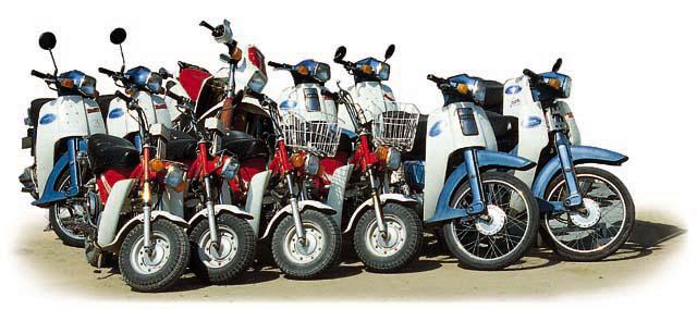 摩托车的画法;