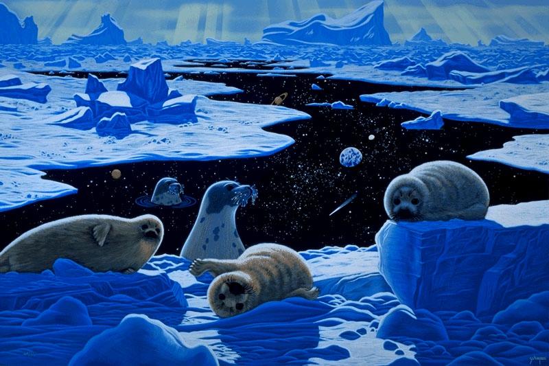 简笔画中常将动物形象拟人化